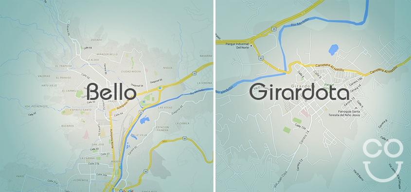 vivienda en Bello y Giradota: dos mundos de posibilidades para proyectos de vivienda nueva