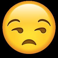 Emoticón cara de aburrido: sensación de alguien que busca vivienda nueva y no encuentra lo que quiere