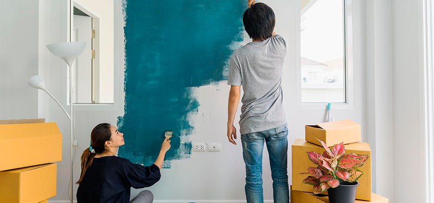 Colores de moda 2018 para pintar tu casa nueva