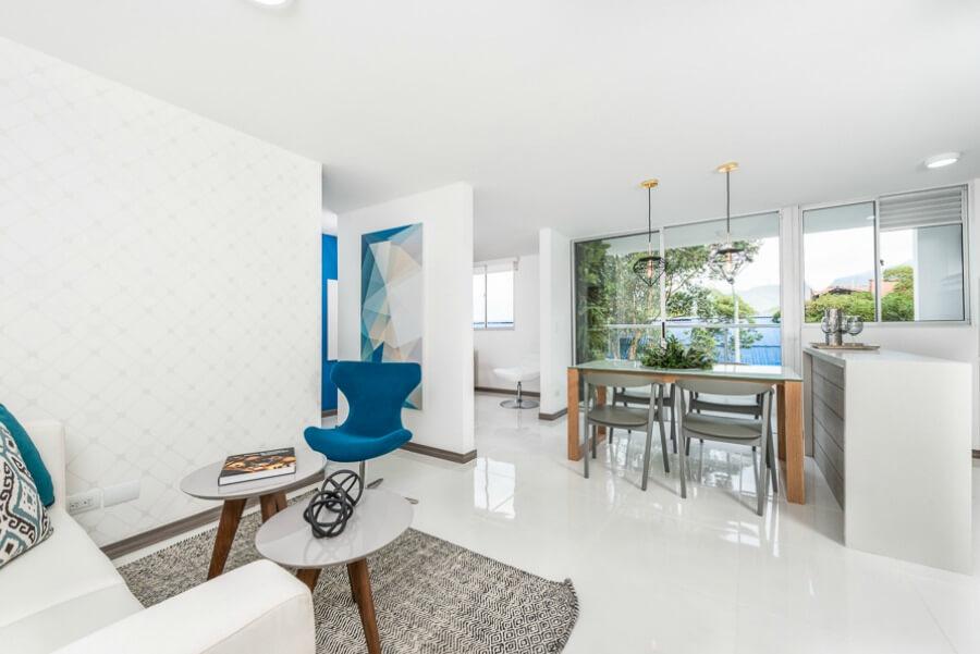 5 tendencias en decoraci n de interiores para 2017 for Decoracion de interiores apartamentos tipo estudio
