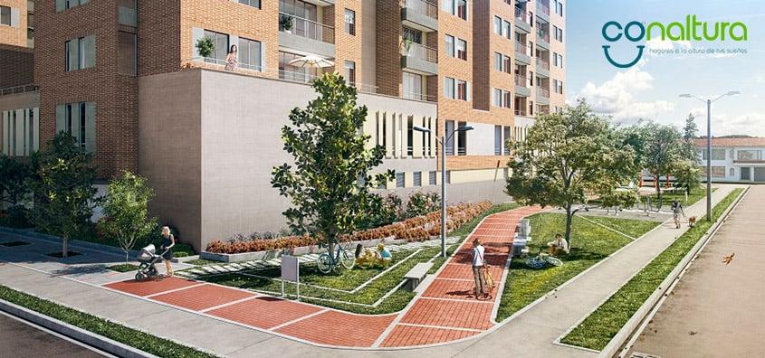 Apartamentos en Morato