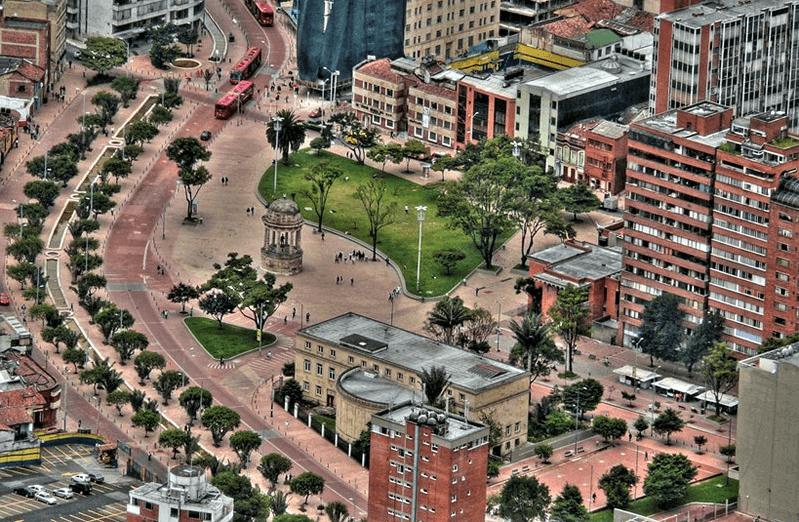 vivir en el centro de Bogotá